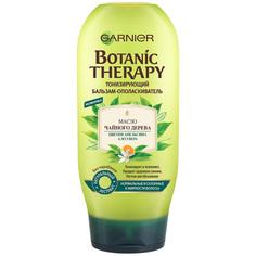 """GARNIER Botanic Therapy Бальзам """"Масло чайного дерева, цветки апельсина, алоэ вера"""" для нормальных и склонных к жирности волос"""