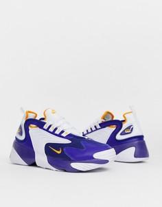 Синие кроссовки Nike Zoom 2K - Синий