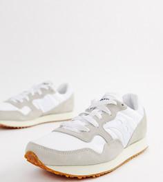 Белые кроссовки в винтажном стиле Saucony DXN - Белый