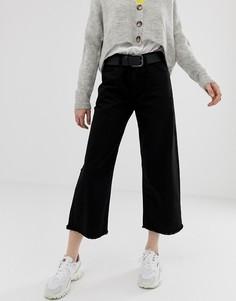 Широкие джинсы Daisy Street - Черный