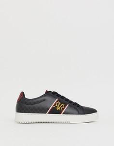 Черные кроссовки с логотипом River Island - Черный