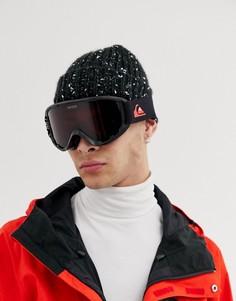 Черные горнолыжные очки-маска Quiksilver - Черный