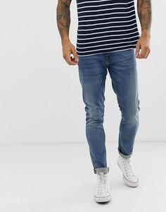 Темные плотные джинсы Nudie Jeans Co - Синий