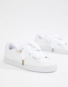 Лакированные кроссовки Puma Basket - Белый