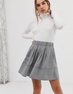Расклешенная юбка Moves By Minimum - Черный