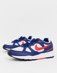 Синие кроссовки Nike Air Span II - Синий