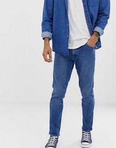 Светлые зауженные джинсы Levis Line8 - Синий