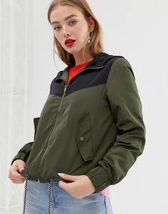 Куртка-анорак в стиле колор блок Noisy may - Мульти