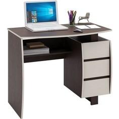 Стол письменный Мастер Экстер-5 (венге/дуб молочный) МСТ-СТЭ-05-ВМ-ДМ-16 Master