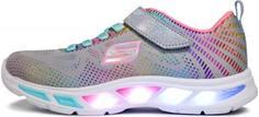 Кроссовки для девочек Skechers Litebeams-Gleam, размер 28.5