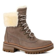 Ботинки TIMBERLAND Courmayeur Shearling Boot коричнево-серый