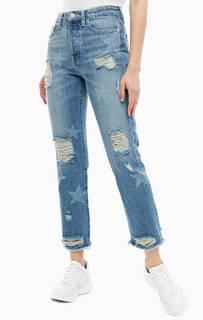 Рваные синие джинсы бойфренд The It Girl Guess
