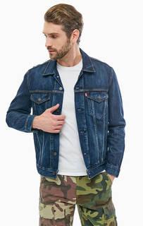 Джисновая куртка с карманами Levis