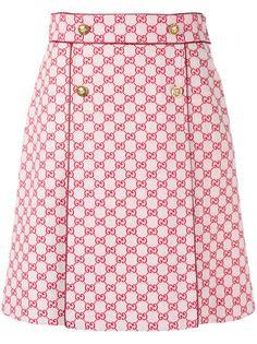 Gucci юбка с принтом GG