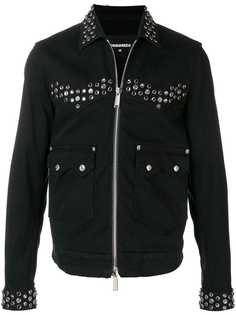 Dsquared2 джинсовая куртка с заклепками