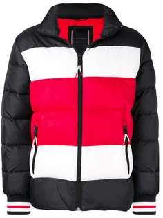 Tommy Hilfiger пуховая куртка в стиле колор-блок
