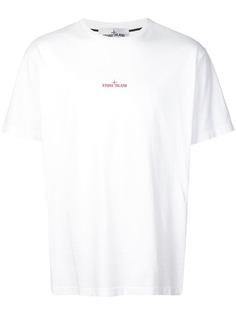 Stone Island футболка с круглым вырезом и логотипом