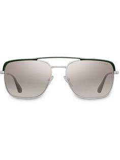 Prada Eyewear солнцезащитные очки-авиаторы