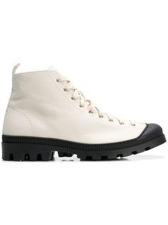 Loewe ботинки по щиколотку на шнуровке