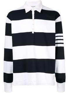 Thom Browne футболка-поло в стиле оверсайз