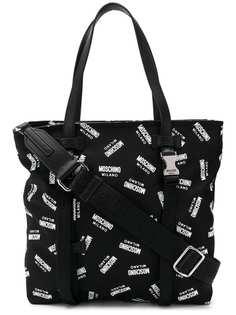Moschino сумка-шоппер с логотипом