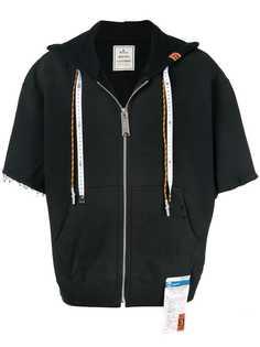 Maison Mihara Yasuhiro трикотажная куртка с капюшоном