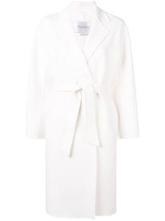 Max Mara классическое пальто с поясом