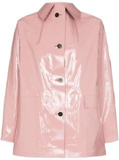 Kassl лакированная куртка-рубашка на пуговицах
