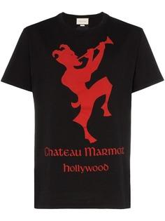 Gucci футболка Chateau Marmont с короткими рукавами