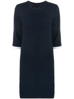 Fay приталенное платье миди