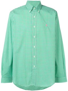Polo Ralph Lauren logo checked shirt