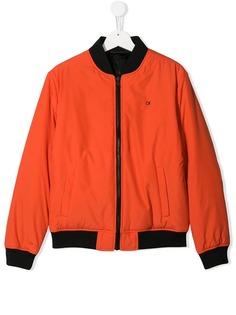 Calvin Klein Kids классическая куртка-бомбер