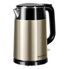 Чайник электрический REDMOND RK-M1582, 1800Вт, золотистый и черный
