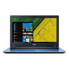"""Ноутбук Acer Aspire A315-51-590T i5 7200U/8Gb/1Tb/SSD128Gb/15.6""""/HD/W10/blue"""