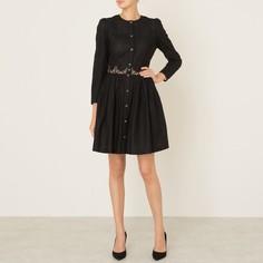Платье из хлопка с вышивкой The Kooples