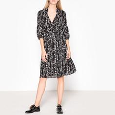 Платье в форме каш-кер с рисунком FOLIA Ba&;Sh