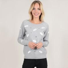 Пуловер с круглым вырезом, вышивкой и украшениями Molly Bracken