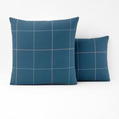 Наволочка или наволочка на подушку-валик из хлопковой перкали KARO La Redoute Interieurs