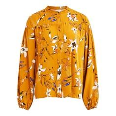 Рубашка с круглым вырезом на пуговицах Vila
