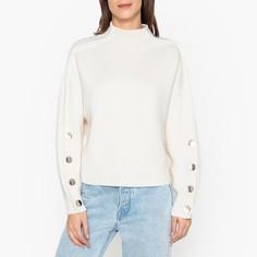 Пуловер со стоячим воротником из трикотажа ASTANA Ba&;Sh
