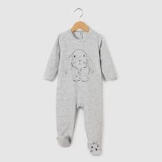 Пижама из велюра, 0 месяцев - 3 года La Redoute Collections