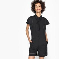 Комбинезон короткий с рубашечным воротником и короткими рукавами Mademoiselle R