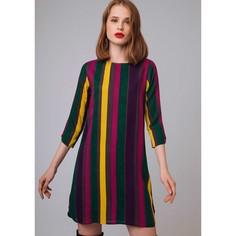 Платье прямое короткое с рукавами 3/4 Compania Fantastica