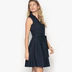 Платье с английской вышивкой, без рукавов Anne Weyburn