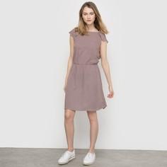 Платье с рисунком и декольте сзади Mademoiselle R