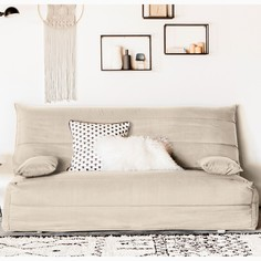 Чехол стеганый из поликоттона для дивана-аккордеона La Redoute Interieurs