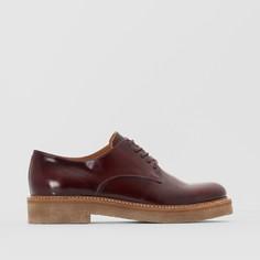 Ботинки-дерби кожаные Oxford Kickers