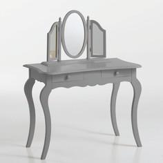 Столик туалетный изогнутый, массив сосны, Soupir La Redoute Interieurs
