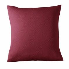Чехол на подушку или наволочка из хлопковой жаккардовой ткани INDO La Redoute Interieurs