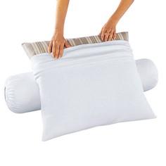 Чехол защитный на подушку-валик из мольтона с обработкой против клещей La Redoute Interieurs